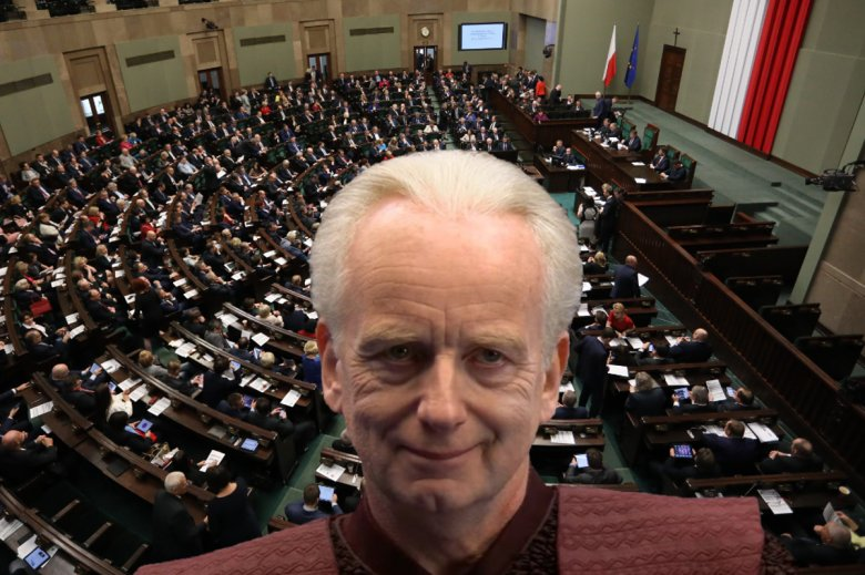 Senator Palpatine tłumaczy zamieszanie z KRS I SN.