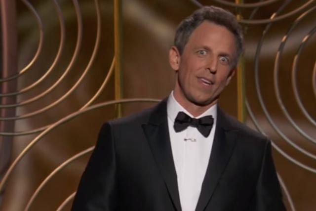 Seth Myers największym zwycięzcą Złotych Globów. Jego monolog na ceremonii to czyste złoto.