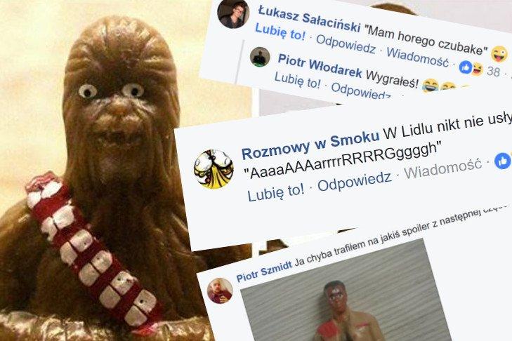 - Chewbacca z Lidla widział RZECZY - twierdzą czytelnicy ASZdziennika.