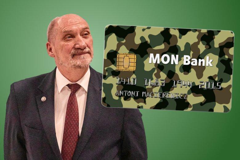 Karta kredytowa MON Banku i jej pierwszy właściciel.