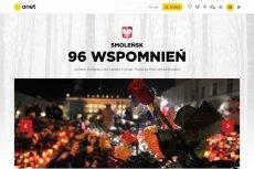 96 wspomnień Onetu to prawdopodobnie  pierwsze normalne przedsięwzięcie rocznicowe w związku z katastrofą smoleńską.