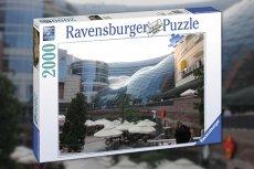 Puzzle z centrem handlowym to idealna rozrywka na niedzielę dla całej rodziny.