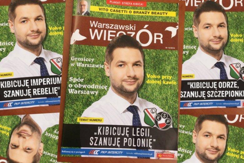 Patryk Jaki kibicuje Legii, ale szanuje też Polonię.