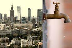 Warszawa zostanie bez wody i gazu w majówkę.