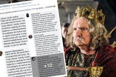"""– Osobiście apeluję do wszystkich hejterów o niekomentowanie – podkreśla fanka """"Korony Królów"""" w poruszającym komentarzu pod jednym z postów na Facebooku."""