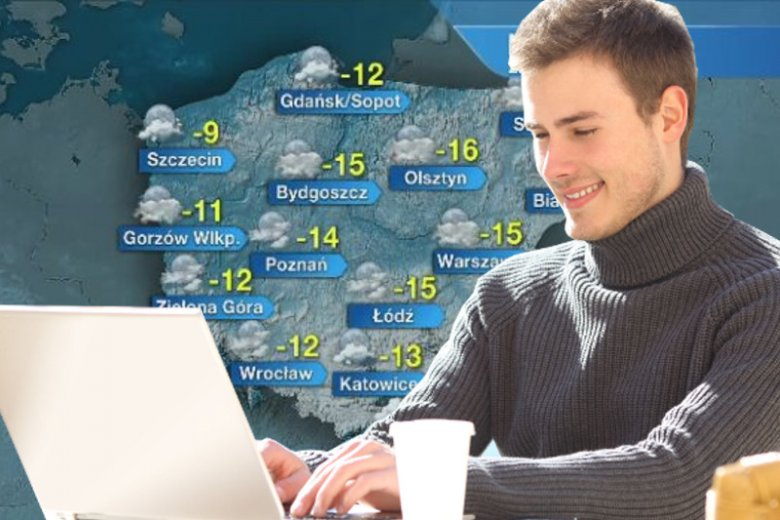 Napisz, jak zimno jest u ciebie.