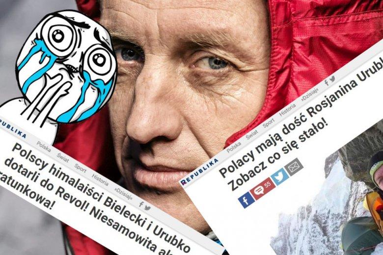 Denis Urubko Polak i nie Polak jednocześnie.