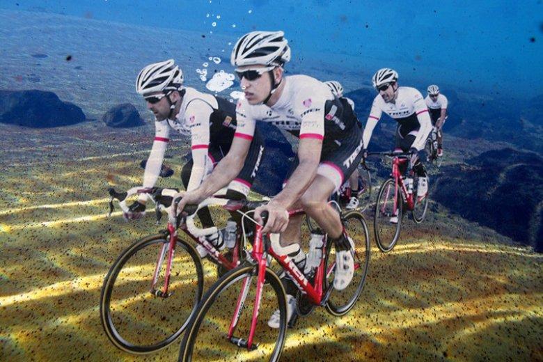 Kolarze zaczęli etap podwodny Tour de Pologne.