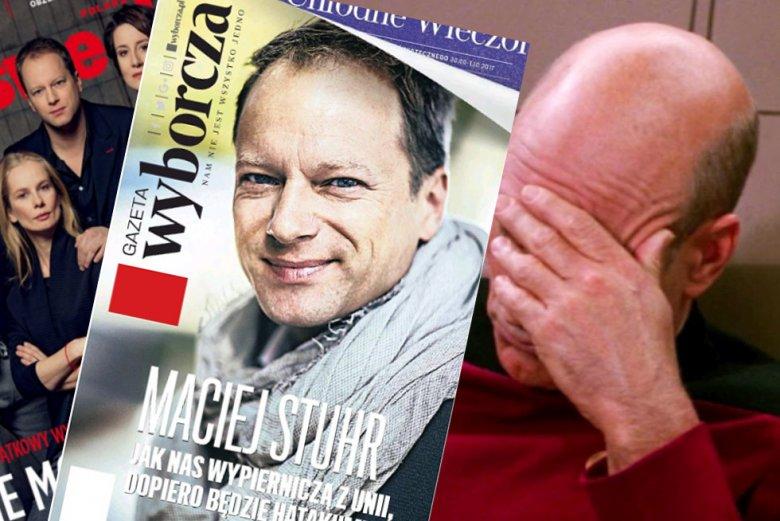Okładki z Maciejem Stuhrem nie działają. Like anybody cares.
