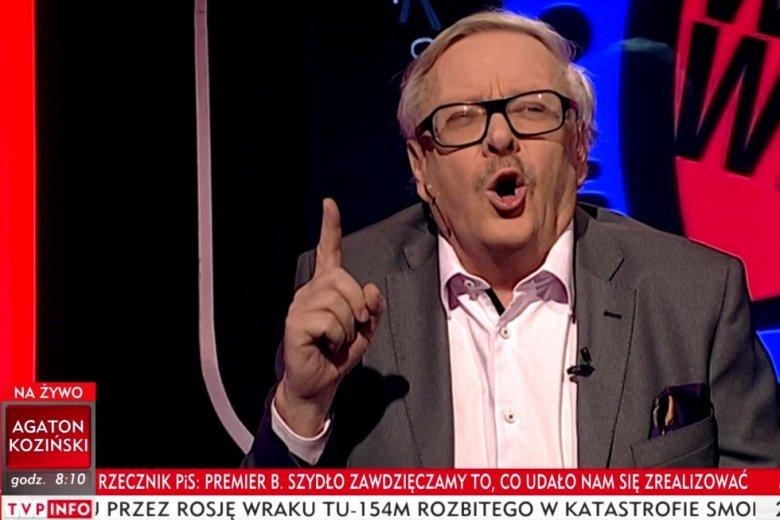 """Marcin Wolski pożegnał w TVP Info Beatę Szydło wierszem. A raczej """"pożegnał"""" """"wierszem""""."""