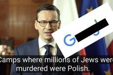 Google T. się doigrał. Grożą mu 3 lata więzienia za tłumaczenie orędzia Mateusza Morawieckiego.