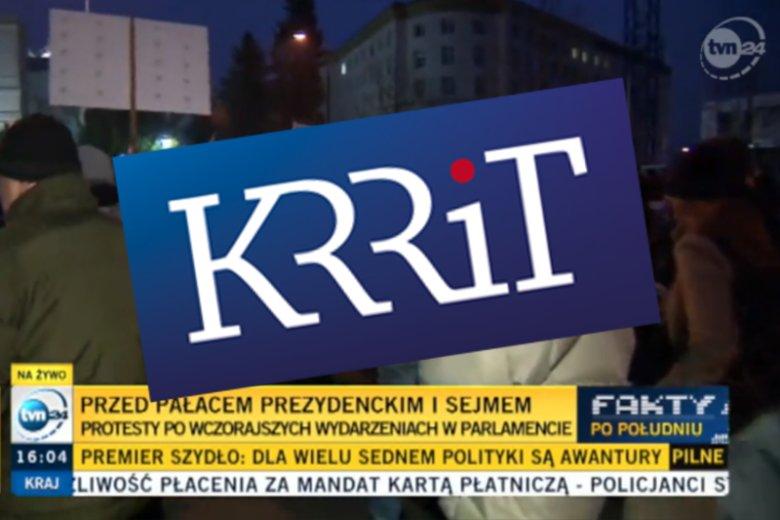 KRRiT nałożyła karę  1,5 mln zł na telewizję TVN.