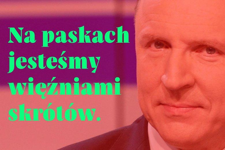 """Jacek Kurski ogląda inną TVP niż reszta kraju. Wyznał to w bolesnym wywiadzie dla """"DGP""""."""