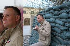 Andrzej Duda w Afganistanie pozował na zwierzchnika sił zbrojnych, ale pozostał Andrzejem Dudą.