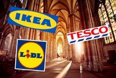Sieci obejdą zakaz handlu. Zmienią sklepy w miejsca kultu.