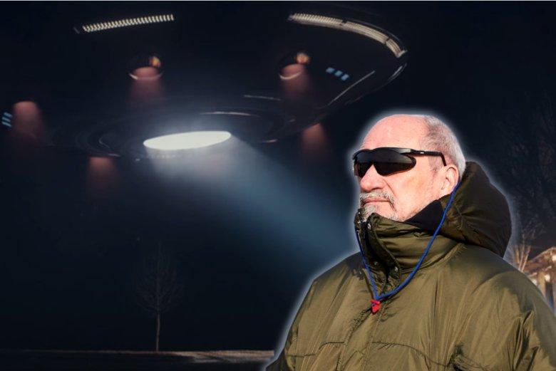 Antoni Macierewicz zakończył misję jako szef MON i wrócił na swoją planetę.