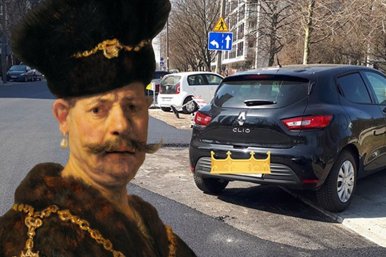 Szlachta zaskoczyła drogowców.