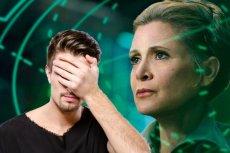"""Na """"Ostatnim Jedi"""" na scenie z Leią facepalm zaliczysz."""