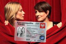 Magdalena Cielecka i Maja Ostaszewska mają wspólny dowód osobisty.