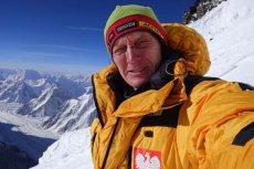 Denis Urubko czekał na szczycie K2 na kolegów, ale nie przyszli.