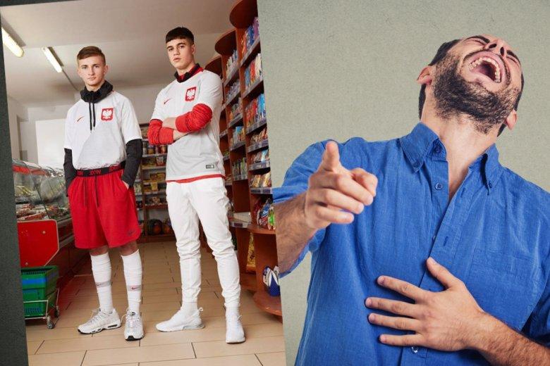 Sesja zdjęciowa Nike dla Polski to żart.