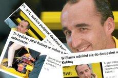 Gdyby Robert Kubica dostawał złotówkę za każdy nagłówek na portalach...