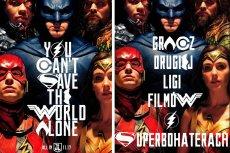 Oryginalny plakat Justice League i wersja ASZdziennika