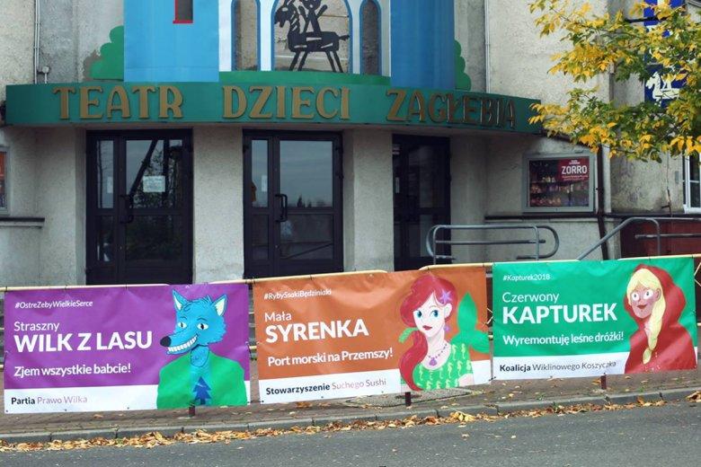 Teatr Dla Dzieci Zrobił śmieszne Plakaty Przypadkiem Wygrał