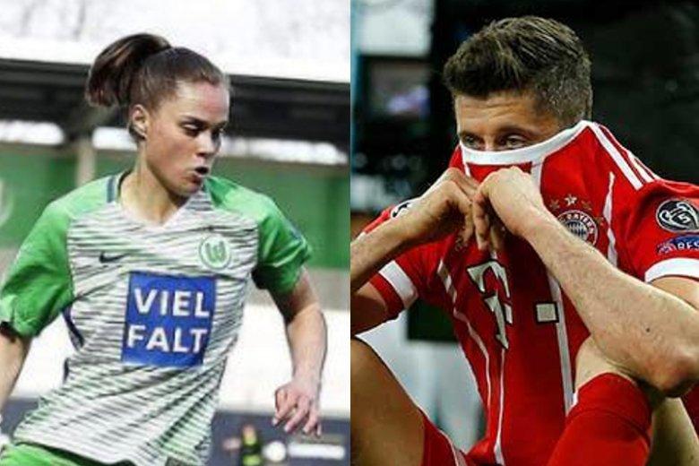 Ewa Pajor vs. Robert Lewandowski