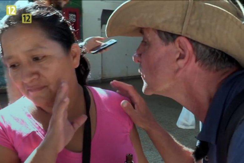 """f435e46435d2b7 Geniusz """"Ameryki Express"""". Celebryci na siłę całują Peruwiańczyków ..."""