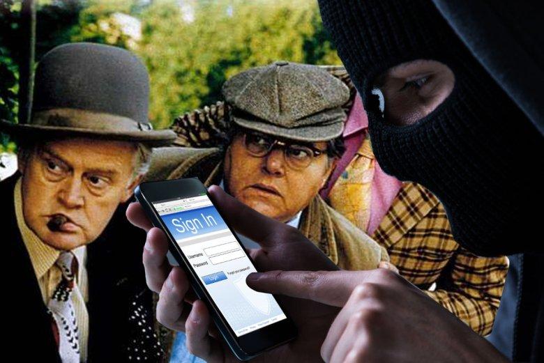 Złodziej iPhonów z Woli zawstydził Gang Olsena.