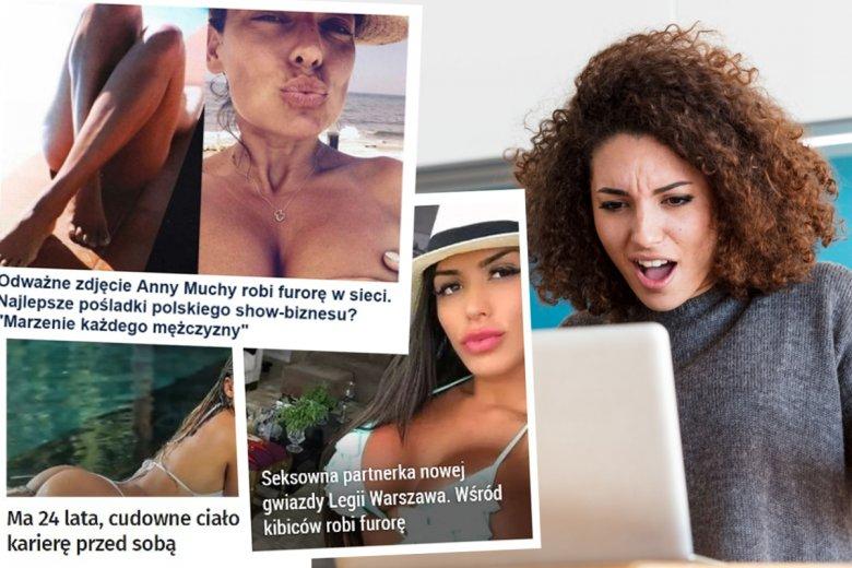 Tak polskie portale traktują kobiety.