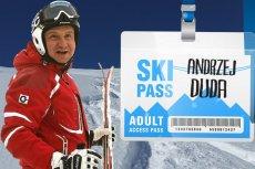 Andrzej Duda otrzymał propozycję nie do odrzucenia. Ski pass za sądy to bardzo korzystna oferta za demokrację.