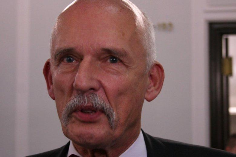 Janusz Korwin-Mikke oficjalnie zapowiedział zrzeczenie się swojego mandatu europosła.